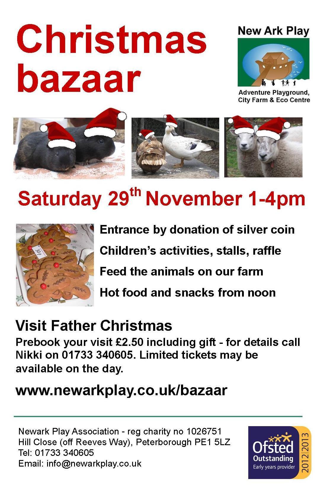 Christmas Bazaar Poster 2014