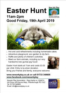 Easter Hunt 19 April 2019 - New Ark Play