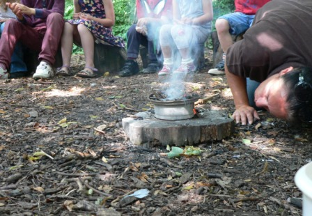 eco clay fire 8 Aug 2013