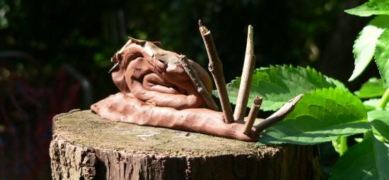 eco clay snail 8 Aug 2013